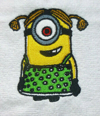 INITIAL MINION THEMED FLANNEL