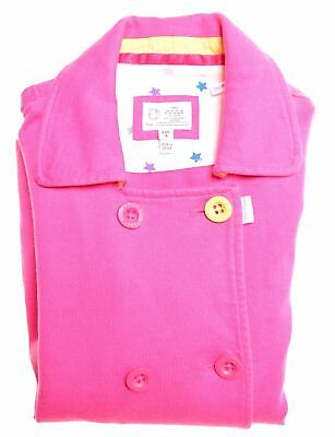 JOULES Girls Overjacket 7-8 Years Pink Cotton  HE06