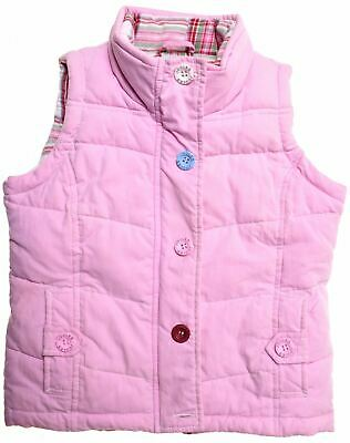 JOULES Girls Padded Gilet 9-10 Years Pink Polyester  HV08