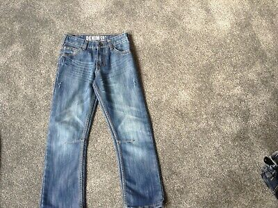 Boys blue Primark jeans age 8-9yrs used