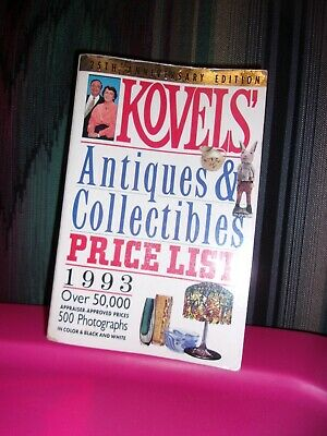 1993 Kovels Antiques 7 Collectibles Price List , 25th. Ann. Edition [Paper Back]
