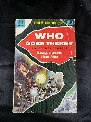 Who Goes There? by John W. Campbell Dell D150 Paperback Science Fiction