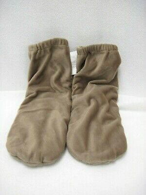Microwaveable Hot Cold Therapy Nelly Pack Hot Socks Tan Size Large