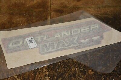 Genuine Can-Am Decal Sticker - 704901018 LH Side Left XT Red Outlander Max 2006