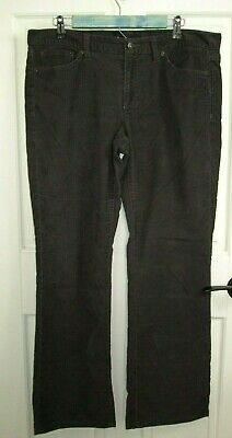 Gap Womens 14 (37x31) Limited Edition Brown Boot Cut Corduroy Pants 126-18128