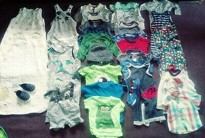 Huge bundle of boys baby clothes 6-9 months