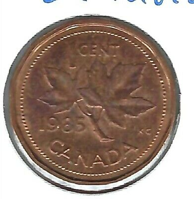 1985 Canadian Circulated One Cent Elizabeth II Coin!