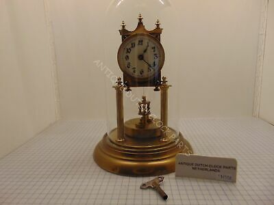Gustav Becker Early 1900S Anniversary Clock With Disc