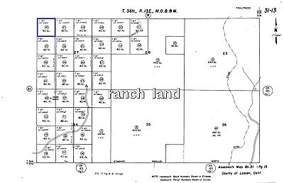 Owner Finance 40 acres great Northern CA land near Reno Sacramento Chico Redding