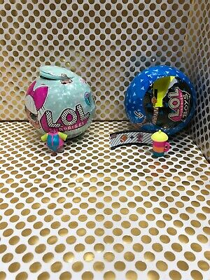 LOL Surprise Dolls Series 1 Surfer Babe Big Sister And Beach Boi Boys ~Authentic