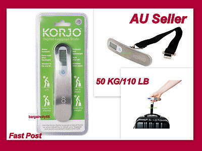 10g/50kg Portable LCD Digital Hanging Luggage Scale Travel Electronic Weight