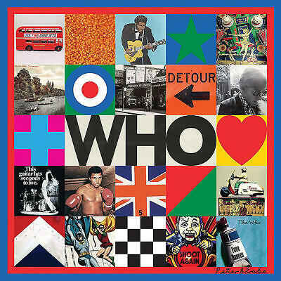WHO by The Who (2019) Brand New CD!!
