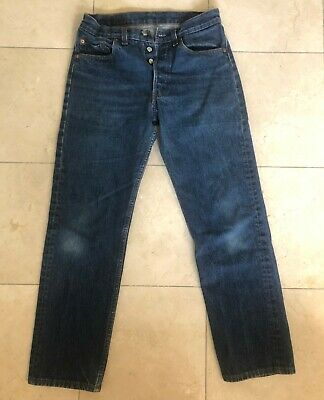 Vintage early 1980s Levi's 501 Button Fly Jeans 30 x 31 Levis #522 Button