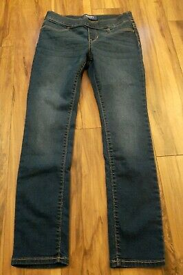 Girls Old Navy Skinny Jeans With Adjustable Waist size 10/12.