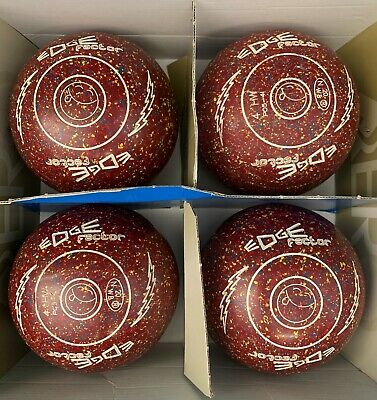 Second Hand Edge Factor Lawn Bowls Size 4