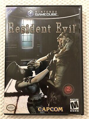 Resident Evil ( Nintendo Gamecube ) Complete W/Case & Manual