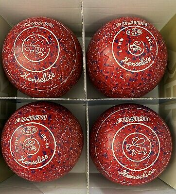 Second Hand Henselite Fusion Lawn Bowls Size 4