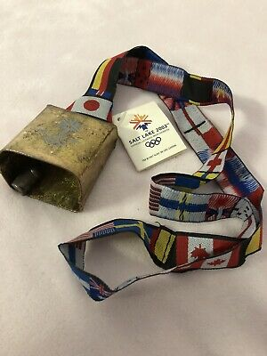 Moen Wrist Bells From The 2002 Salt Lake Olympic Torch Relay