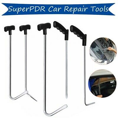 6x  Push Rod Whale Tail Set Auto Body Tool Dent Ding Repair Hail Removal Set