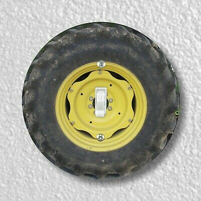 Tractor Wheel Round Light Switch and Outlet Plate Covers