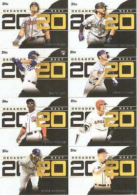 2020 Topps Series 1 Decade's Next Inserts ***You Pick***