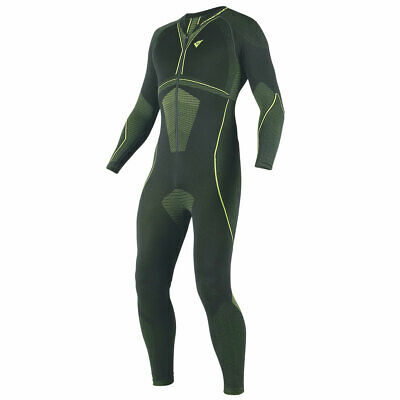 Dainese D-Core Dry Inner Suit Black / Fluo YeLL Motorcycle Motorbikeow