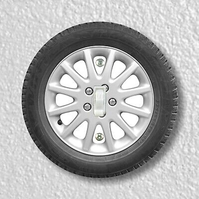 Car Wheel Round Light Switch and Outlet Plate Covers