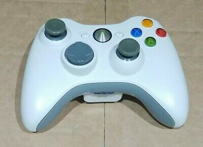 Genuine Microsoft Xbox 360 Controller (White) Rechargeable Battery Pack