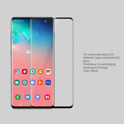 NILLKIN MAX 3DFull Cover Tempered Glass Screen Protector for Samsung Galaxy S10