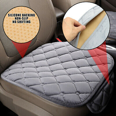 2x Perfect Auto Car Plush Front Seat Cover Pad Lattice Protector Cushions Mat UK