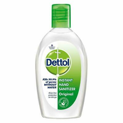 Dettol Instant Hand Sanitizer Original 50 ml Kills 99.9% Of Germs Without Water