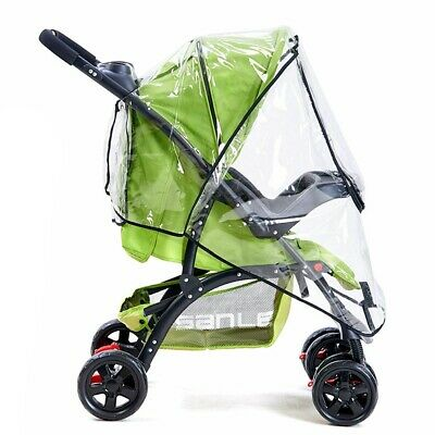Universal Baby Stroller Rain Wind Cover Rain Canopy Raincoat for Pram Pushchair