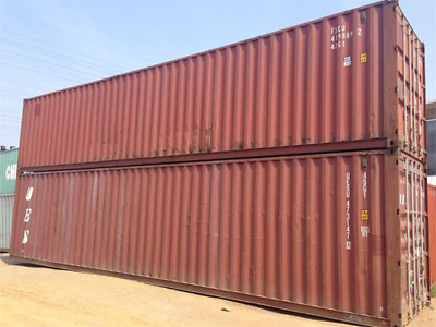 40ft used storage container for sale Savannah, GA @ $1700