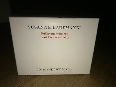 Susanne Kaufman Warming Foot Cream 200 Ml New