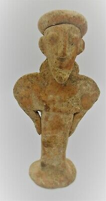 Ancient Near Eastern Terracotta Worshipper Figurine