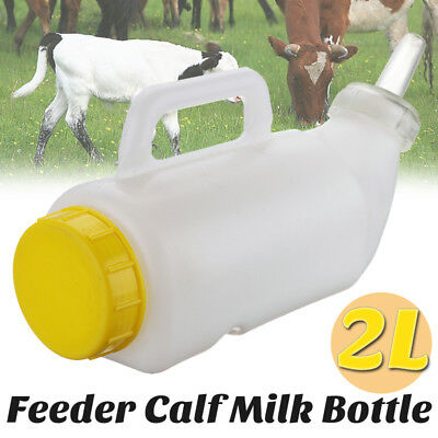 Easy Speedy Feeder Calf Milk Bottle Rearing Drinker Feeding Dairy 2L #2