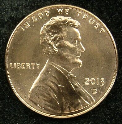 2013 P Lincoln Shield Penny Cent Nice /& Shiny BU Coin #9509