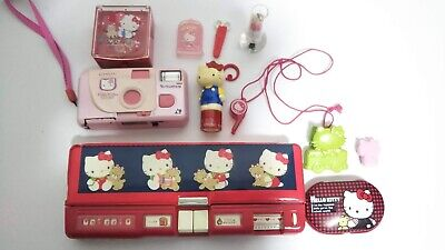 RARE Vtg 2001 Sanrio HELLO KITTY /& MIMMY Charms SPRING COIL Keychain NEW w TAG