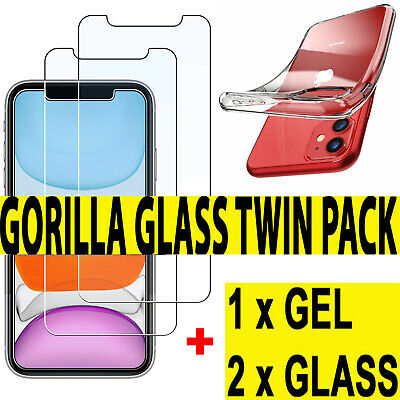 Tempered Glass Screen Protector & Case For New iPhone XR,XS,XS MAX,11,11Pro Max