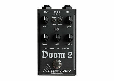 3Leaf Audio Doom 2 Harmonic Fuzz