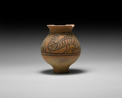 Ancient  Indus Valley Teracotta BEAUTIFUL/Painted  pot C 2000 BC GG700