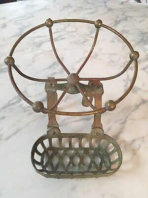 Victorian Style Cast Brass CLAWFOOT with Glass Ball  BC2301