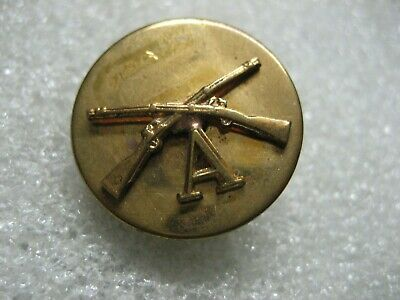 /US Army Collar Disc INFANTRY A Company,pin,ww2