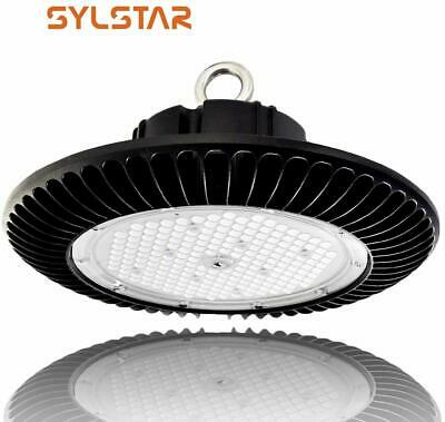 Sylstar LED High Bay Light 200W, Warehouse light 6000K IP65 0-10V Dimmable UFO