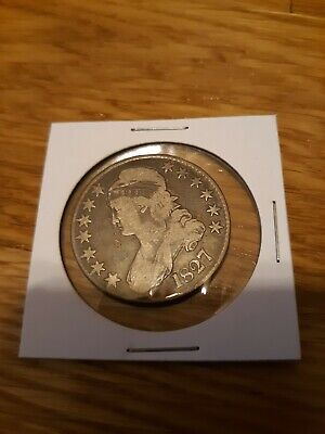 1827 Capped Bust Half Dollar Silver Coin 50c