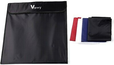 Portable 50Cm Photo Studio With Integral Carry Bag,3 Pockets & 4 Backgrounds