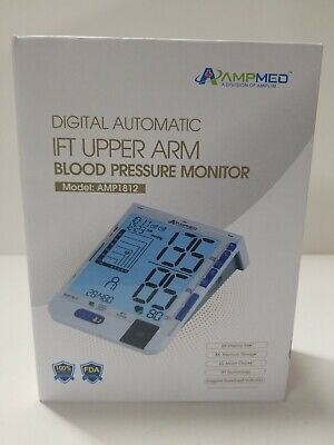 Ampmed Digital Automatic IFT Upper Arm Blood Pressure Monitor (B33D)