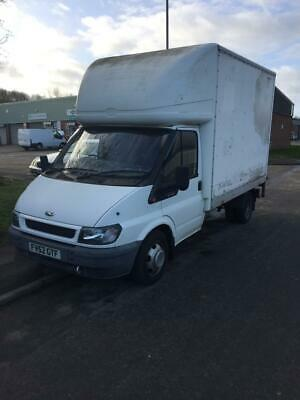 Ford transit Luton low mileage with tail lift / Box van NO VAT