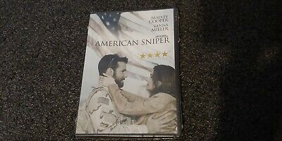 American Sniper (NEW DVD Sealed)Bradley Cooper, Sienna Miller, Eastwood Director