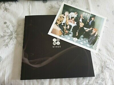 BTS Wings Album N Version With Group Photocard